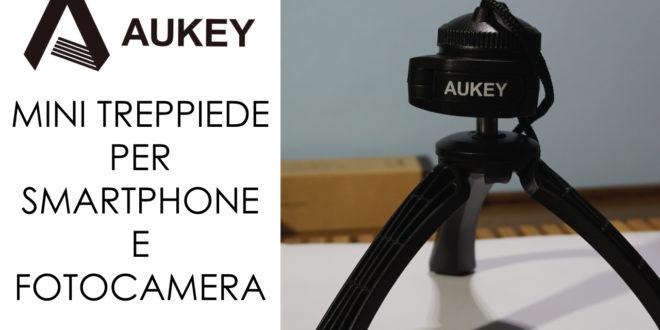 Mini treppiede Aukey, la recensione