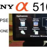 Sony Alpha 5100. Time-Lapse con applicazione