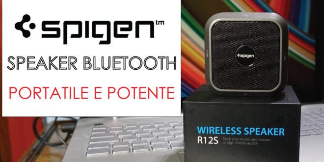 Speaker Bluetooth Spigen, la recensione