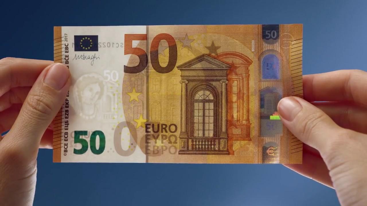 Nuova banconota da 50 euro