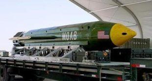 Usa. sganciano la super bomba contro l 'isis