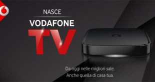 Vodafone Tv, arriva in Italia