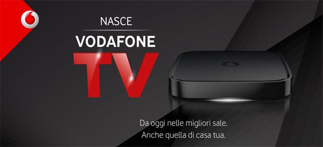 Vodafone Tv, arriva in Italia