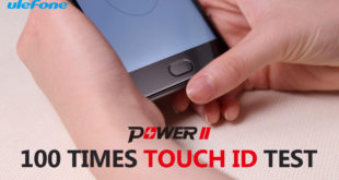 Ulefone Power 2, test scanner per le impronte digitali