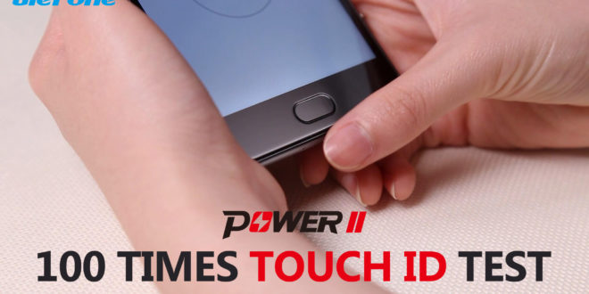 Ulefone Power 2, test scanner per le impronte digitali