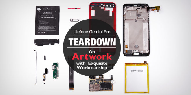 Ulefone. Video teardown del Gemini Pro.