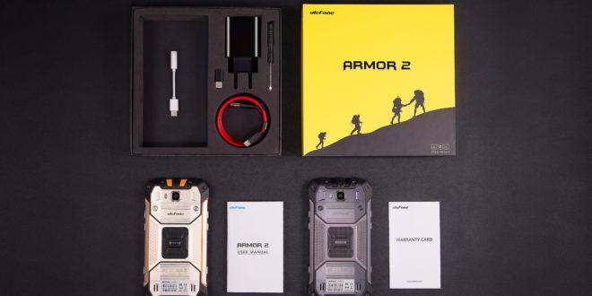 Ulefone Armor 2 unboxing