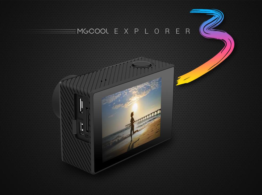 MGCOOL Explorer 3, camera sportiva