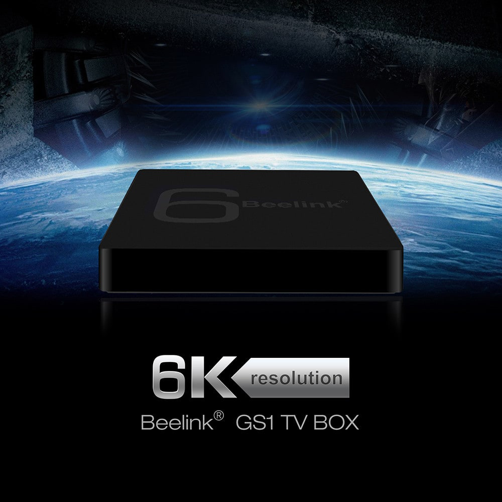 TV BOX Android Beelink GS1 6K offerta Gearbest