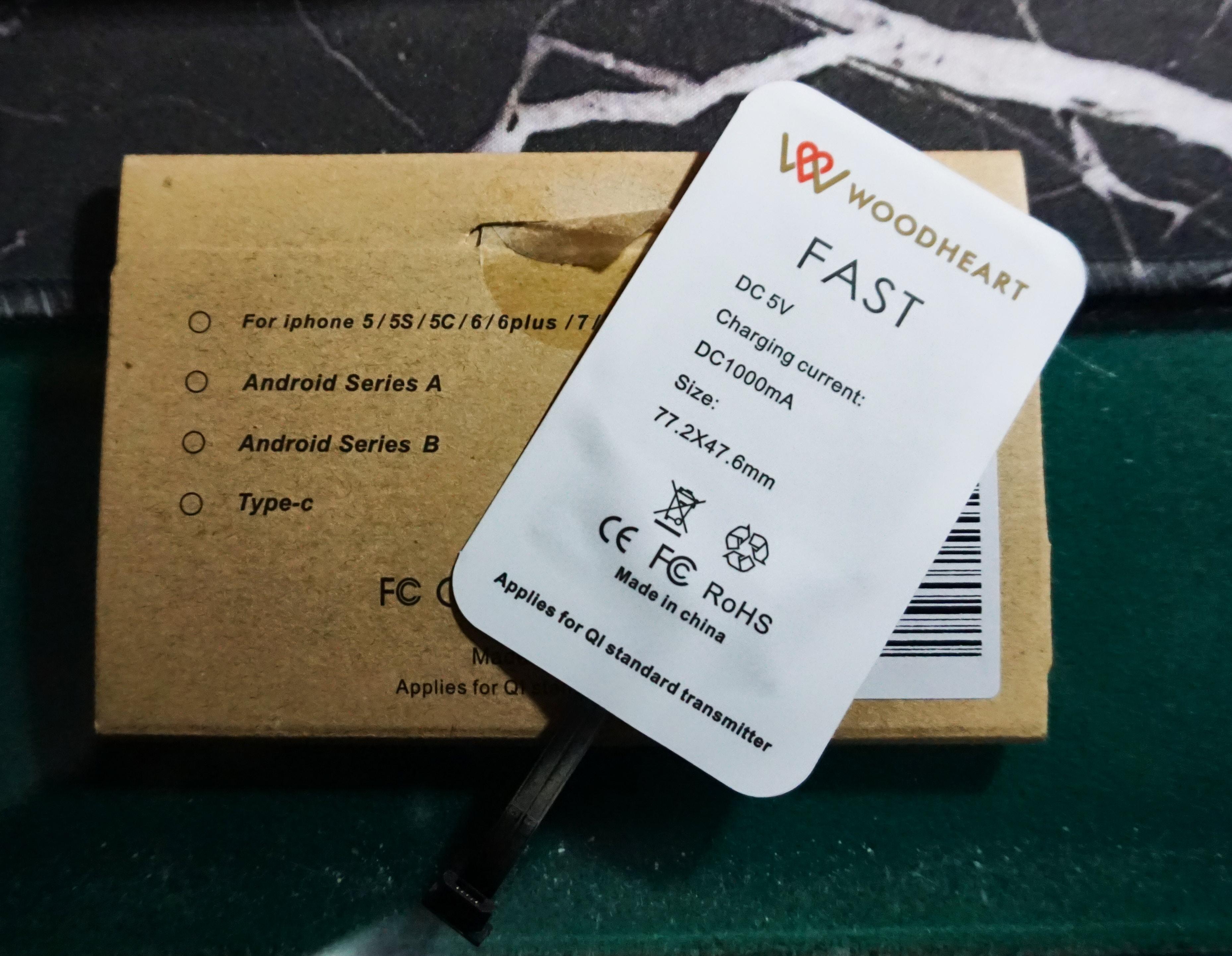 Ricevitore adattatore ricarica wireless Qi