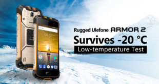 Ulefone Armor 2, video test