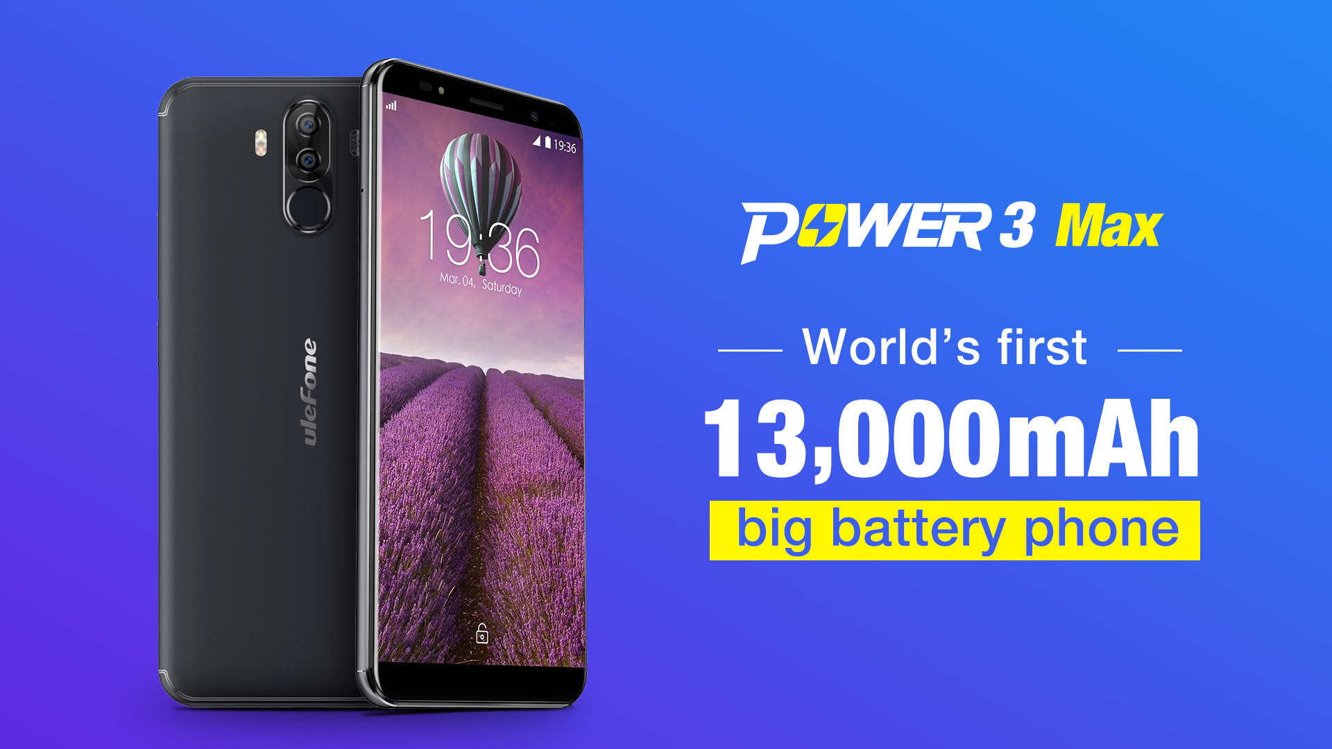 Ulefone Power 3 Max
