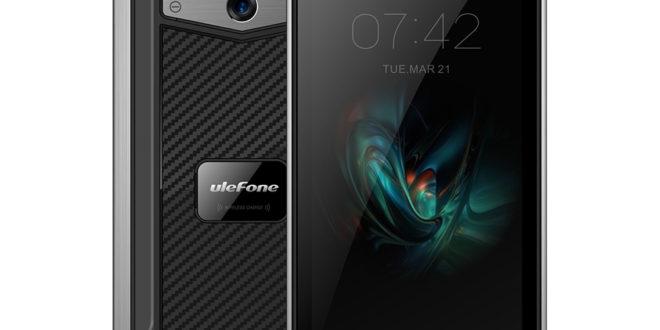 Ulefone Armor X. Primo smartphone rugged con ricarica wireless.