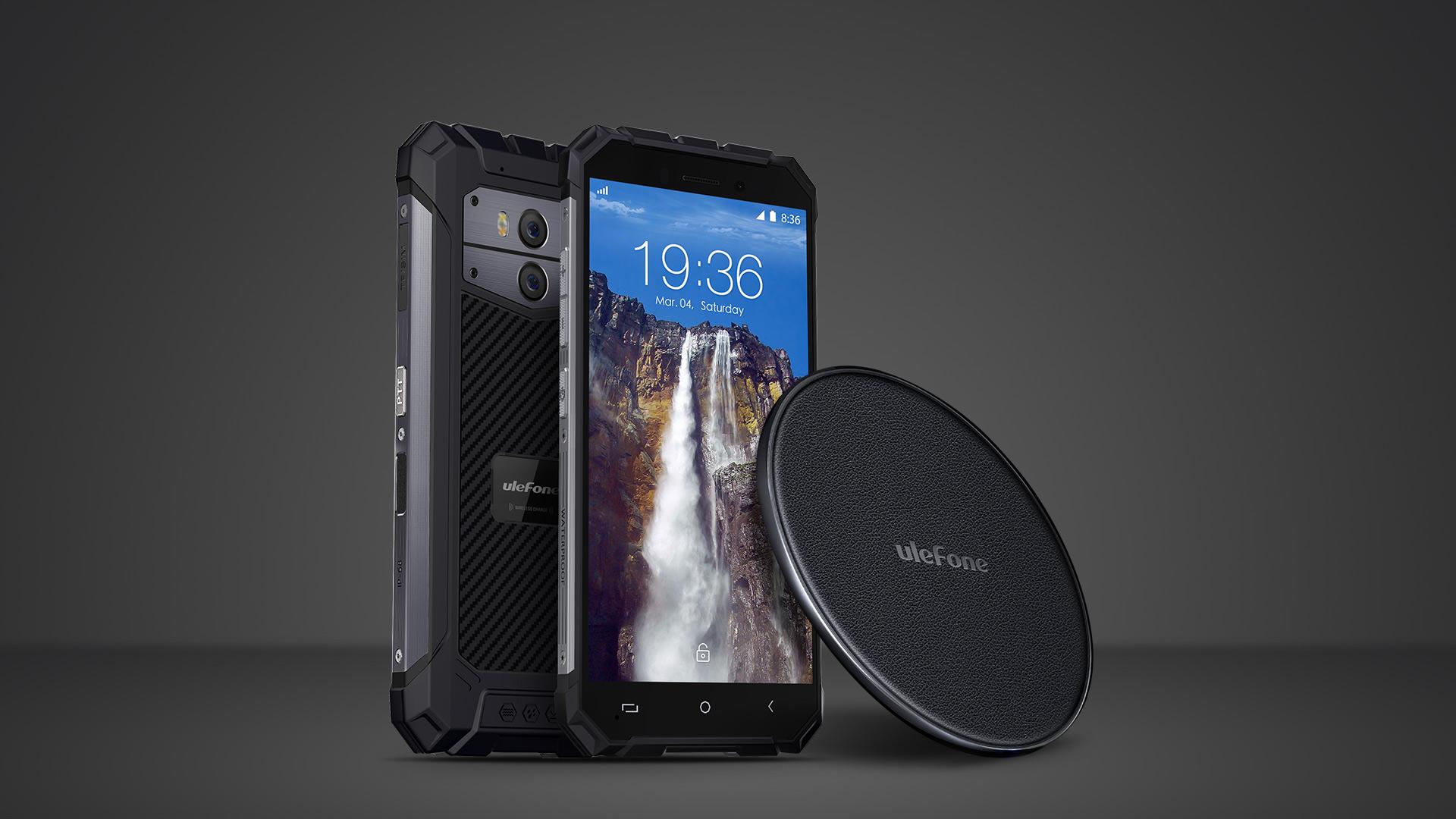 Ulefone Armor X, ricarica wireless