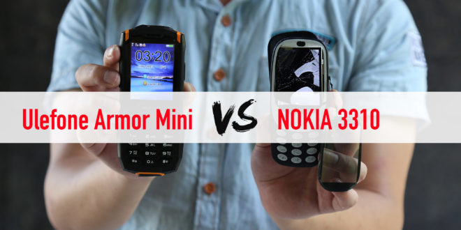 Ulefone Armor Mini vs Nokia 3310