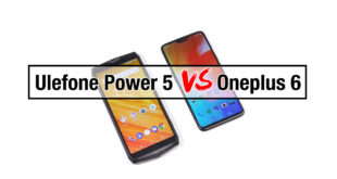 Video confronto Oneplus 6 vs Ulefone Power 5