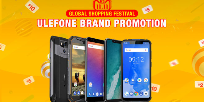 11 Novembre. Ulefone Global Shopping Festival 2018, il Singles' Day.
