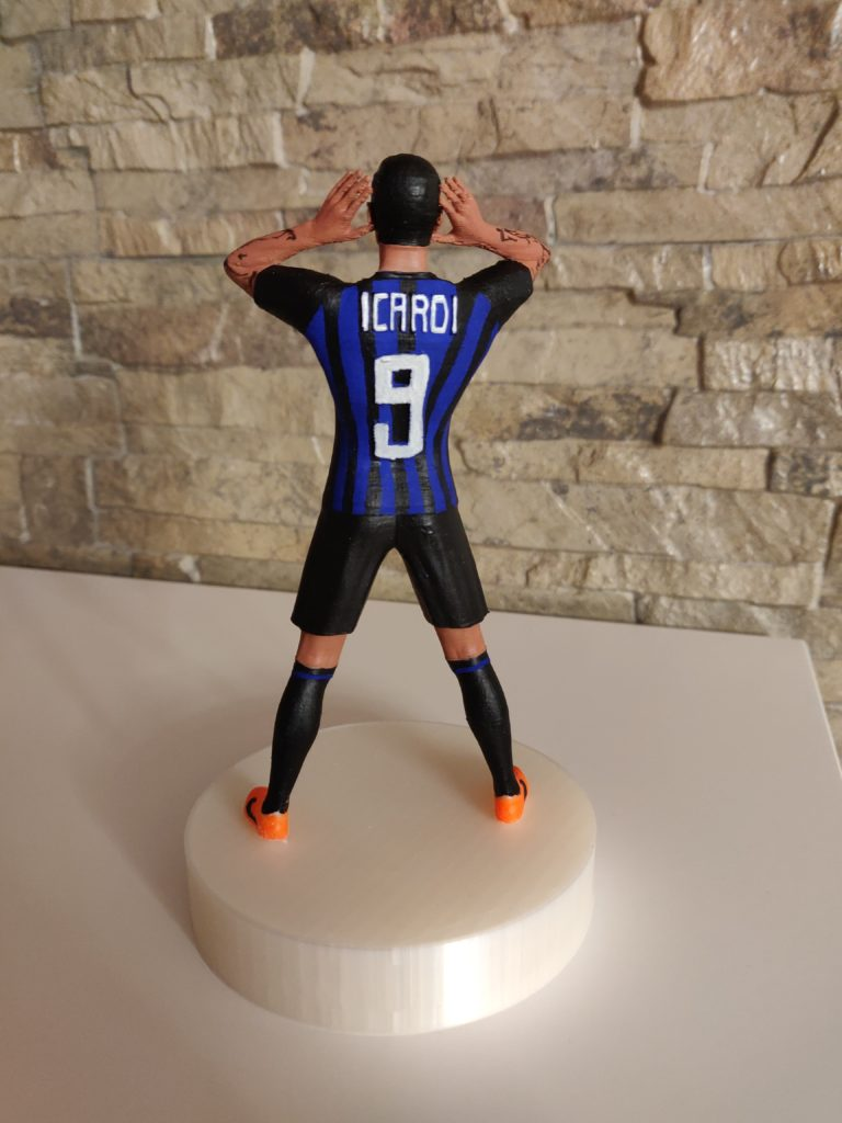 Mauro Icardi in 3d