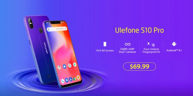 Ulefone S10 Pro in grande promozione su Aliexpress!