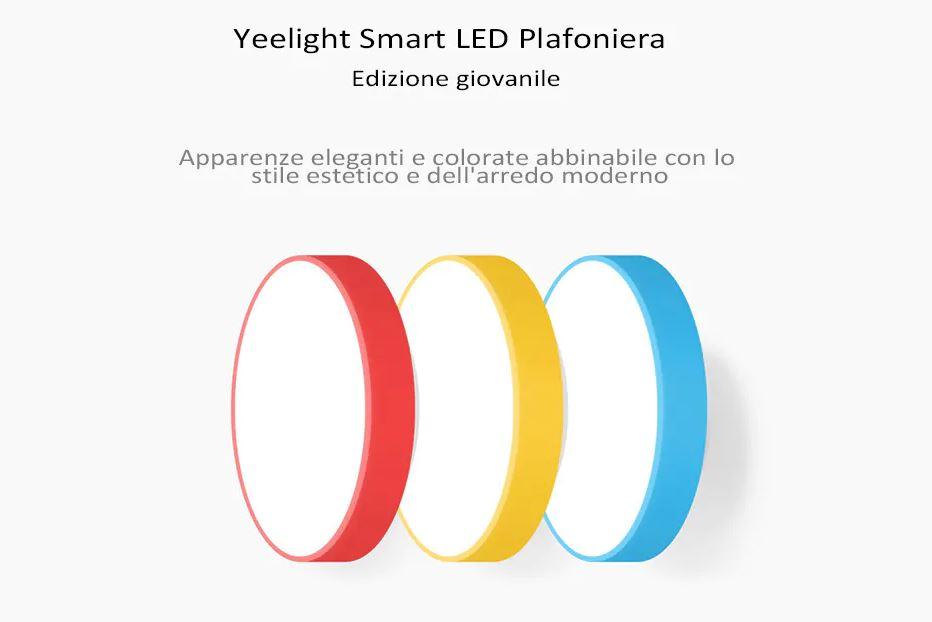 Yeelight YLXD01YL LED Lampada da Soffitto Intelligente