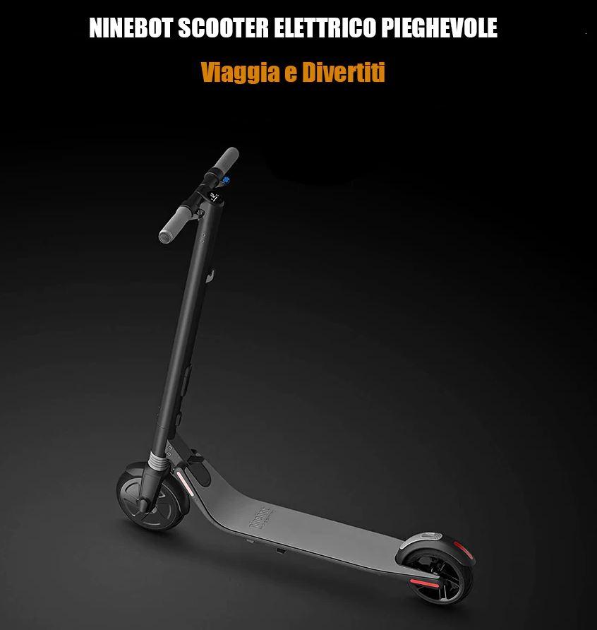 Ninebot Segway ES1 No. 9 Scooter Pieghevole Elettronico da Xiaomi Mijia