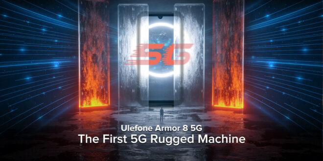 Ulefone Armor 8 5G. Il primo rugged smartphone ad avere il 5G.